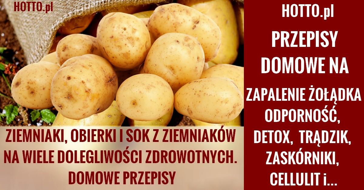 ziemniaki dla zdrowia i urody
